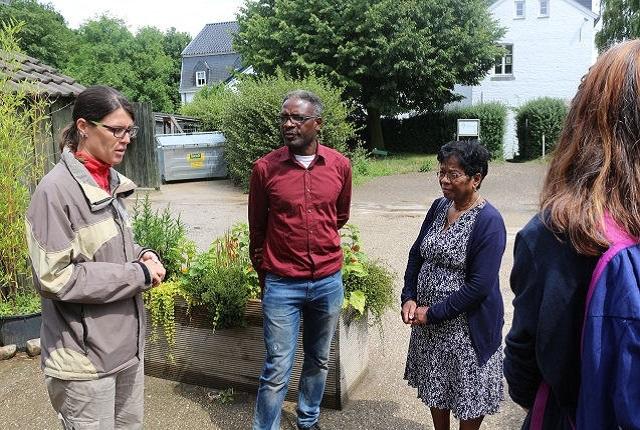 Besuch beim Biohof Gauchel im Aachener Paulinenwäldchen